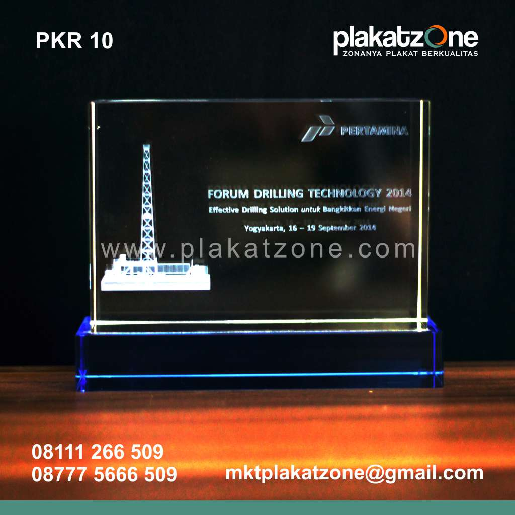Plakat Kristal Forum Drilling Pertamina