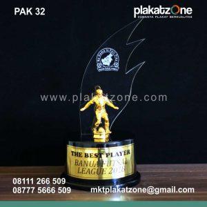 Plakat Akrilik Best Player Banua Futsal League