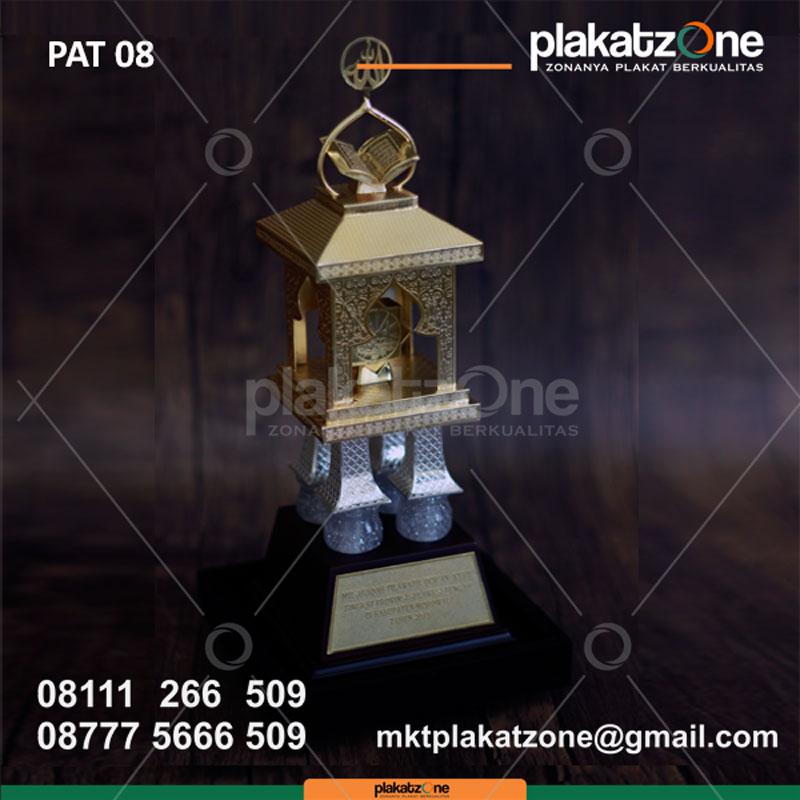 Trophy Kejuaraan Piala MTQ Eksklusif - contoh piala mtq