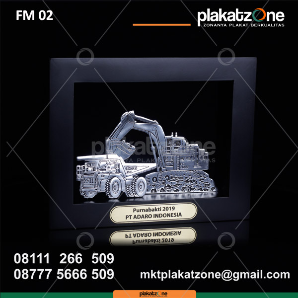 Custom Frame Gifts Kayu Souvenir PT Adaro Indonesia